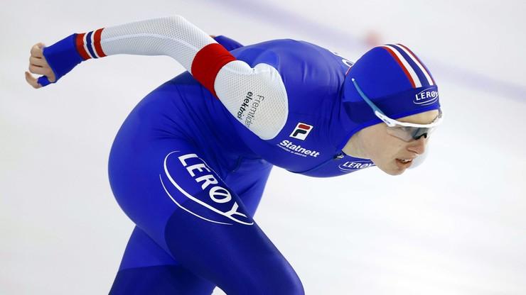 MŚ w łyżwiarstwie szybkim: Czerwonka szósta na 1500 m, niespodziewane zwycięstwo Norweżki