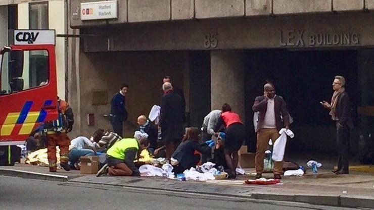 34 zabitych i ok. 200 rannych w zamachach w Brukseli