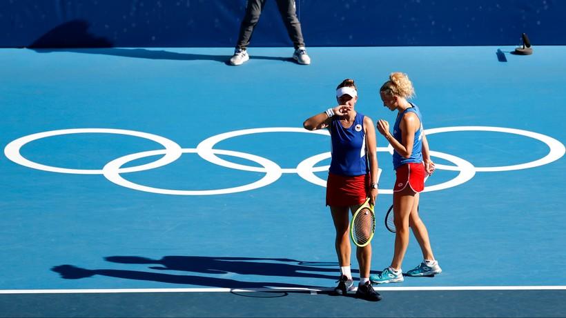 Tokio 2020: Barbora Krejcikova i Katerina Siniakova najlepsze w deblu
