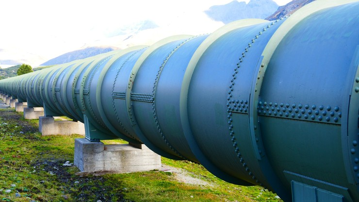 Awaria gazociągu na Ukrainie. Wstrzymano import gazu z Polski