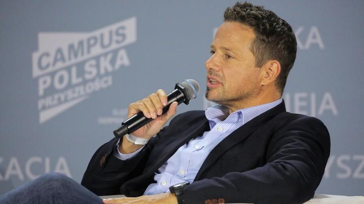 Rafał Trzaskowski na Campusie Polska Przyszłości: PO popełniła trzy wielkie błędy