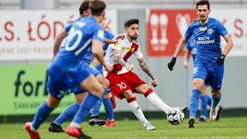 Fortuna 1 Liga: Trzy remisy w niedzielę. Osiem bramek w Łodzi
