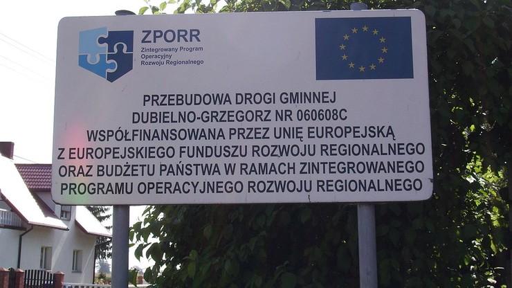 Pieniądze z UE. Przez 7 lat polskie samorządy dostały 98 miliardów złotych