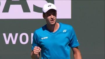 ATP w Indian Wells: Hurkacz rozbił rywala i zagra w ćwierćfinale!
