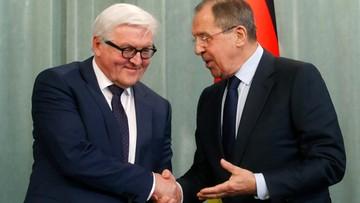 Rosja: Ławrow i Steinmeier ponownie wezwali do realizacji porozumień mińskich