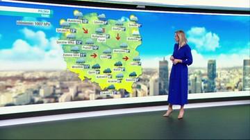Prognoza pogody - środa, 22 września - rano