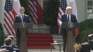 Konferencja prasowa Donalda Trumpa i Andrzeja Dudy. Wydanie specjalne