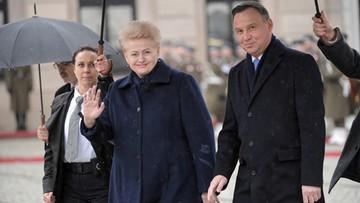 Wizyta prezydent Grybauskaite. Wojska Polski i Litwy zacieśniają współpracę