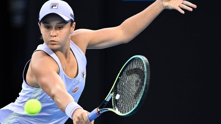 Australian Open: Ashleigh Barty - Karolina Muchova. Relacja i wynik na żywo