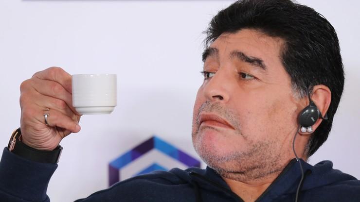 Maradona w Brześciu: Chciałbym poznać Łukaszenkę