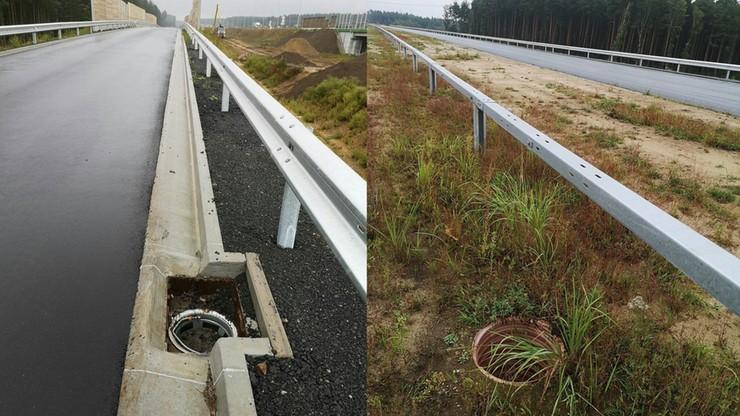 Dolny Śląsk. Kradzież elementów wyposażenia z budowy drogi ekspresowej S3 koło Lubina i Polkowic