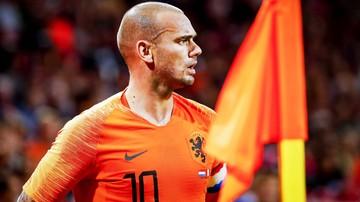 Sneijder zakończył karierę i bardzo przytył. Potrzebował do tego... dwóch tygodni (WIDEO)