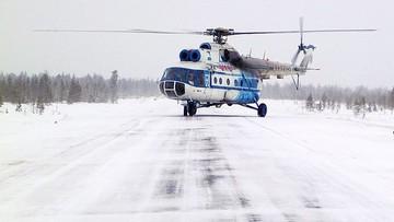 Awaryjne lądowanie śmigłowca. Kilkanaście osób rannych