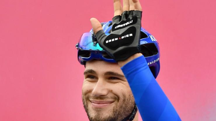 UAE Tour: Filippo Ganna wygrał czasówkę. Pogacar liderem