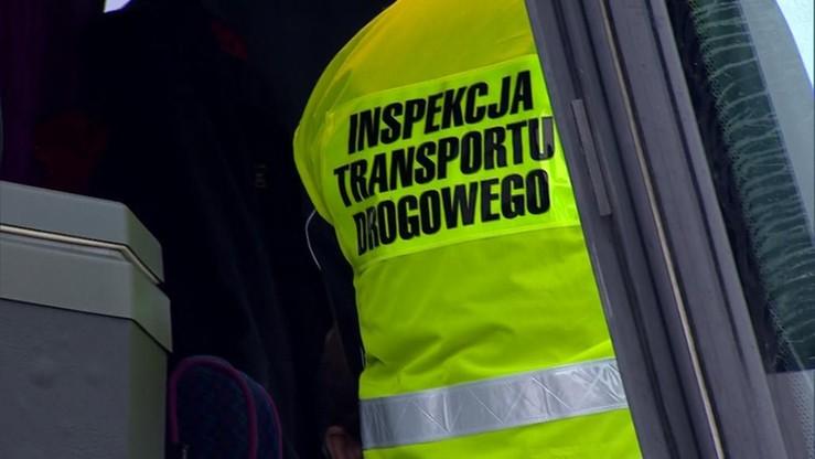 Protest Związku Zawodowego Inspekcji Transportu Drogowego. Chcą przekształcenia w służbę mundurową