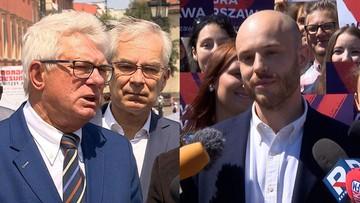 Celiński do Śpiewaka: z ciebie po prostu CH**. Obaj chcą walczyć o fotel prezydenta Warszawy