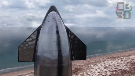 Zobacz na filmie, jak będzie wyglądał pierwszy lot Starship-SuperHeavy [WIDEO]