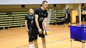 Maciej Muzaj trenuje z Vervą Warszawa Orlen Paliwa