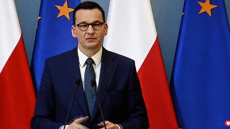 """Morawiecki o """"kruchości Unii Europejskiej"""". Zdradził, jakiej oczekuje odpowiedzi"""