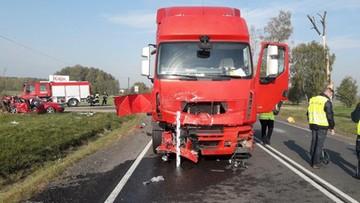 Zderzenie ukraińskiego autobusu, volkswagena i ciężarówki. Nie żyją dwie kobiety