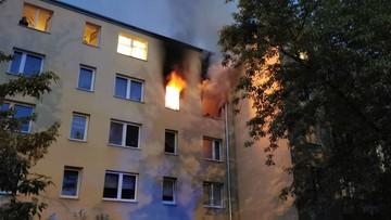 Pożar w Pruszkowie. Nie żyje nastolatek