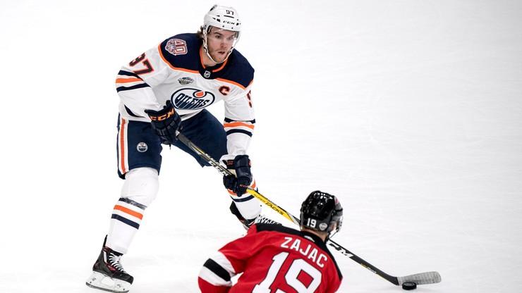 NHL: Trzeci w sezonie hat-trick Connora McDavida i cenne zwycięstwo Edmonton Oilers