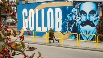 Zniszczono mural Tomasza Golloba. Kilka godzin po odsłonięciu