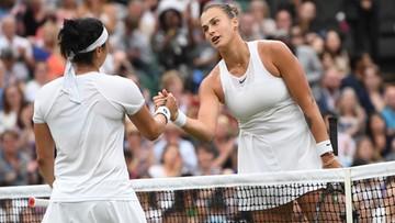 Wimbledon: Pogromczyni Świątek odpadła w ćwierćfinale