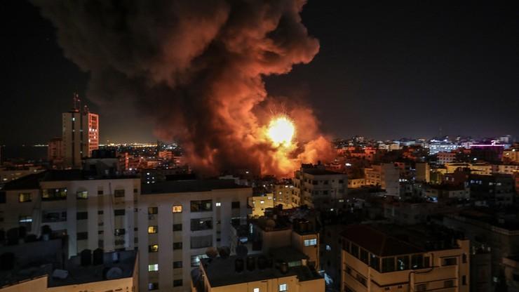 Eskalacja zbrojna w Strefie Gazy. 200 rakiet wystrzelonych w kierunku Izraela