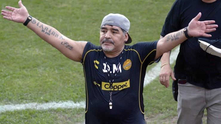 """Maradona chce zostać trenerem Manchesteru United. """"Jestem gotowy"""""""