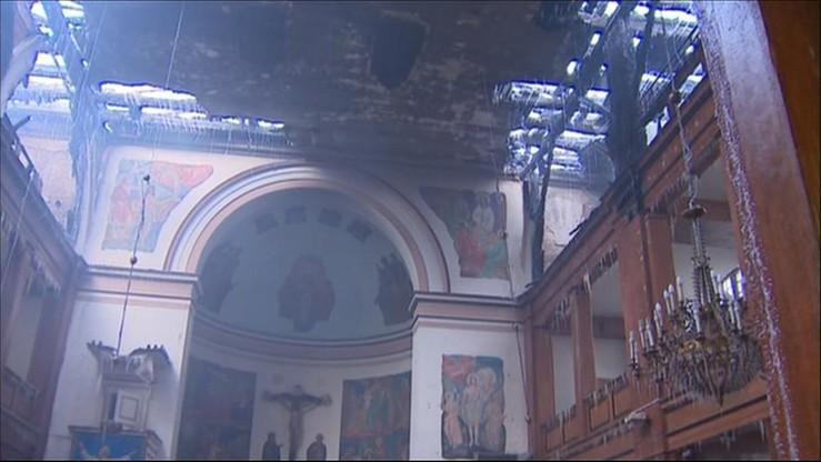 Spłonął zabytkowy kościół w Braniewie. Ogromne straty