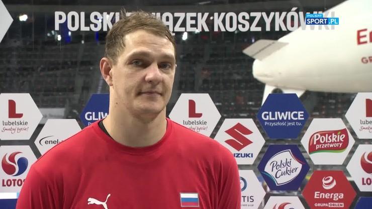 Timofey Mozgov: Dziękujemy za turniej. To dla nas ważne zwycięstwo