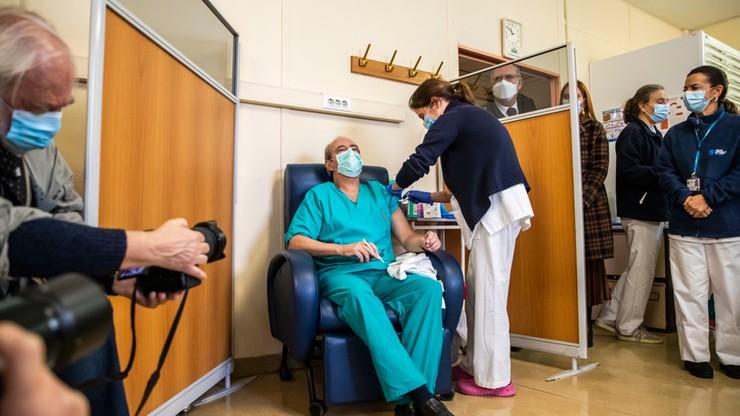 Portugalia: konflikt mundurowych doprowadził do opóźnień w dostawie szczepionek