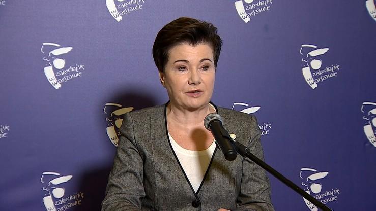"""Gronkiewicz-Waltz przegrała z Polską Fundacją Narodową ws. kampanii """"Sprawiedliwe sądy"""""""
