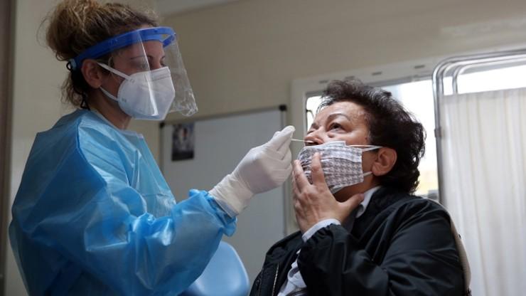 Darmowe testy na koronawirusa dla wszystkich mieszkańców Anglii