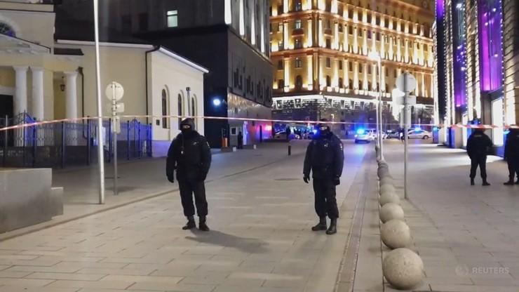 Strzelanina obok budynku FSB w Moskwie [WIDEO]