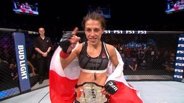 Dokładnie sześć lat temu Jędrzejczyk została mistrzynią UFC (WIDEO)