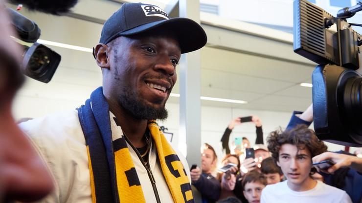Bolt rozpoczyna treningi z klubem piłkarskim