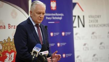 """Gowin: decyzja o dymisji Korneckiej """"narusza umowę koalicyjną"""""""