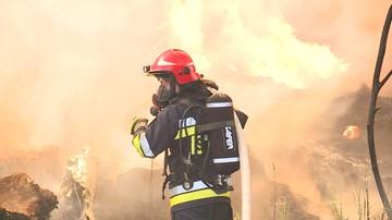 Tydzień od pożaru w Zgierzu. Strażacy zakończyli akcję