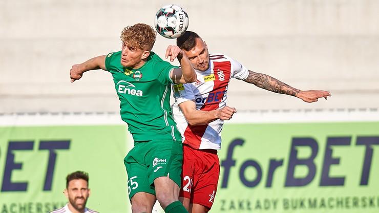 Fortuna 1 Liga: Bramkowy remis w arcyważnym spotkaniu ŁKS Łódź - Radomiak Radom