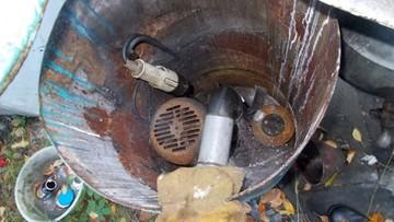 """Pompa zasysała odpady z szamba. """"To przydomowa oczyszczalnia ścieków"""""""