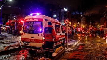 Matka wyrzuciła dzieci przez okno. Ratowała je przed pożarem