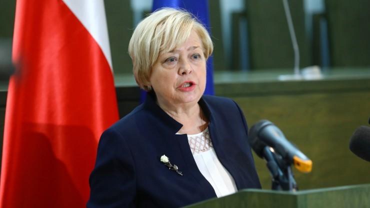 Gersdorf: rząd, Sejm i Senat powinny podjąć działania ustawodawcze po wyroku TSUE
