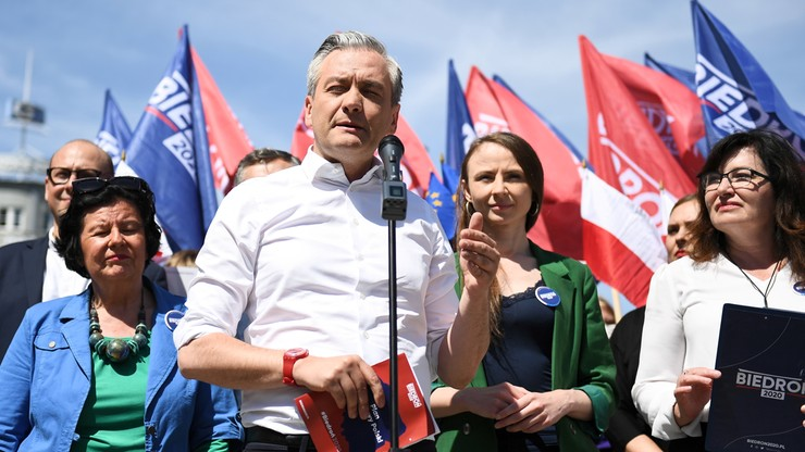 Robert Biedroń zapowiada powstanie nowej partii politycznej