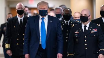 Rekord liczby zakażeń w USA. Trump zmienił zdanie ws. maseczek