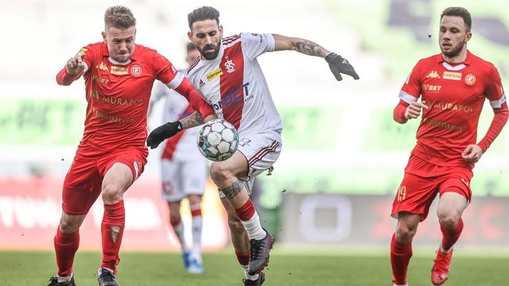 Fortuna 1 Liga: ŁKS Łódź zremisował z Widzewem Łódź 2:2. Padły piękne gole