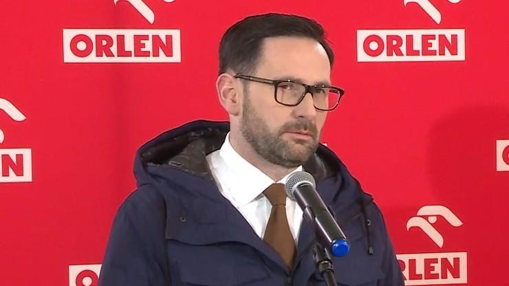 Obajtek: wywiad b. prezesa PKN Orlen zawiera kłamstwa