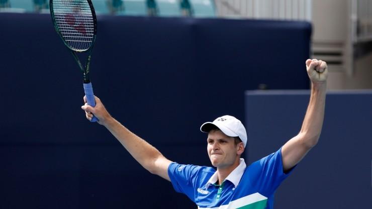 Ile Hubert Hurkacz zarobił za turniej ATP w Miami?