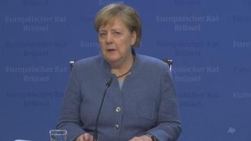 Merkel i Macron żądają swobody żeglugi przez Cieśninę Kerczeńską